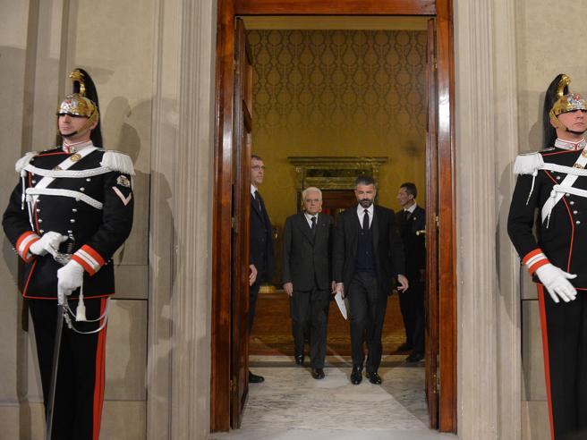 Mattarella chiude,   Gentiloni avanti«Serve un governo con pieni poteri»