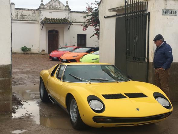 La Lamborghini Miura Torna A Casa Tra I Tori Che Le Hanno Dato Il
