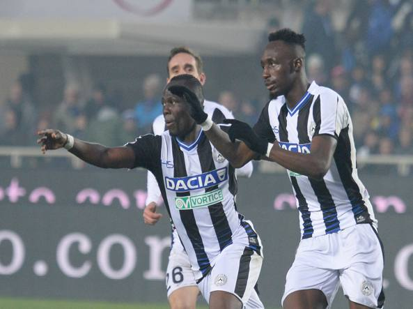 Colpo Udinese a Bergamo, Atalanta ko 3-1