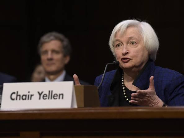 La Fed rialza i tassi, salgono di 0,25 punti