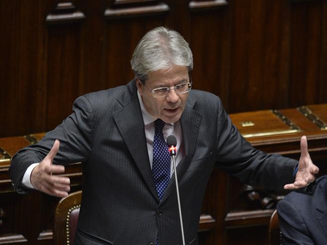 Gentiloni, fiducia al Senato   con 169 sì «Portare a termine le riforme»|Le foto