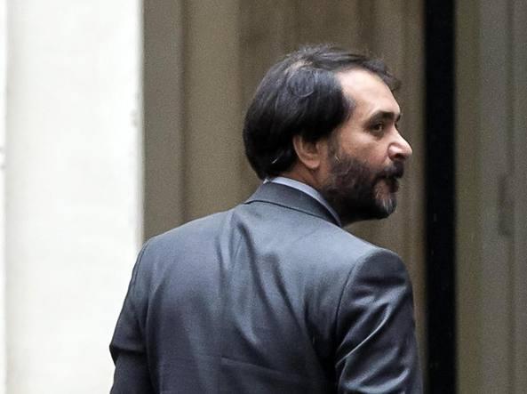 L'arresto di Sergio Scarpellini  (LaPresse)