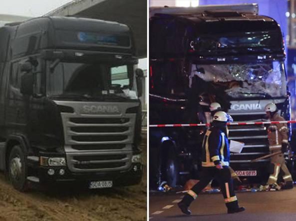 Attacco a berlino il camion veniva dall italia nel - Foto di grandi camion ...