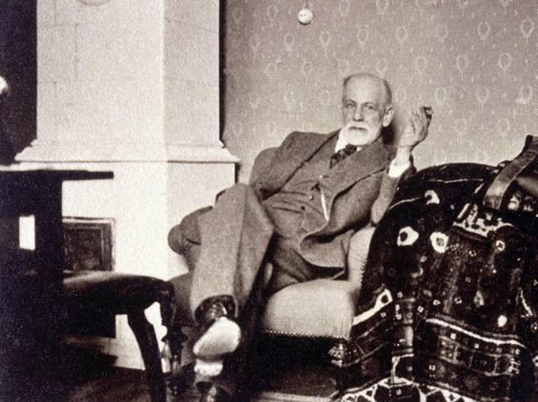Sigmund Freud (courtesy Sigmund Freud Museum)