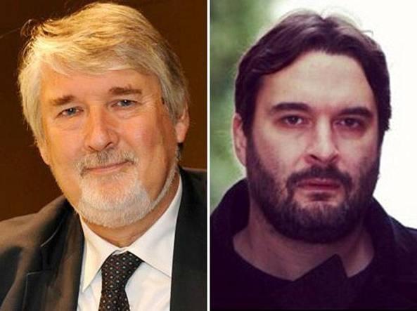 Il ministro del Lavoro, Giuliano Poletti, e il figlio Manuel, 42 anni