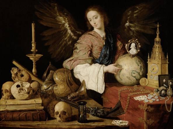 «Allegoria della vanità», un dipinto di Antonio de Pereda (1611-1678)