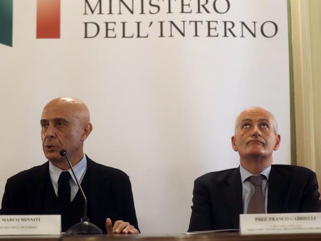 Gabrielli: «Tutti a rischio, fare i nomi degli agenti di Sesto   non ha aumentato  il pericolo»