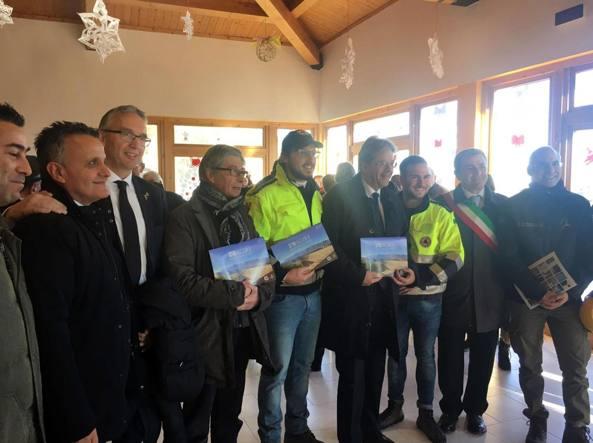 Paolo Gentiloni a Norcia, San Ginesio e Amatrice