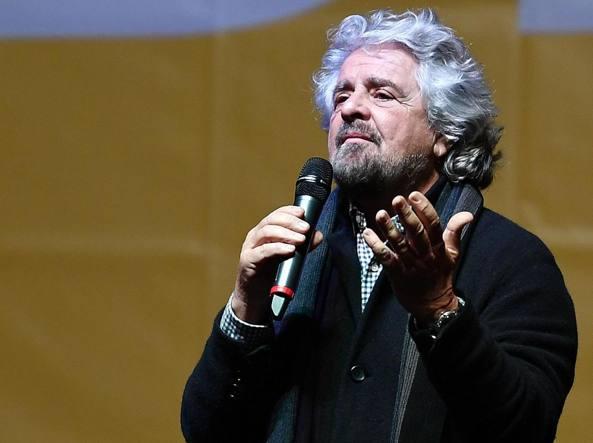 Beppe Grillo (Ansa)