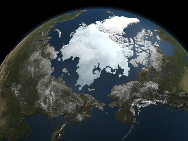 Artico, l'inverno più caldo: temperature record al Polo Nord