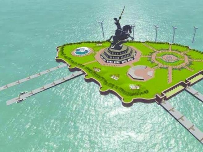 India: una spada di 192 metriLa statua più alta al mondo