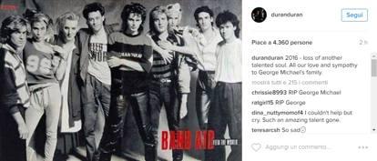 Morto George Michael, l'addio delle star sui social