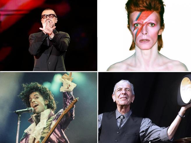 Da David Bowie a Prince fino a George Michael: è il 2016, l'annus horribilis  del   pop