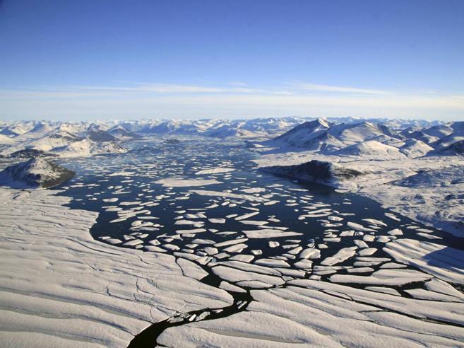 Se  questo è inverno: 20 gradi in più all'Artico e 14 a Cortina