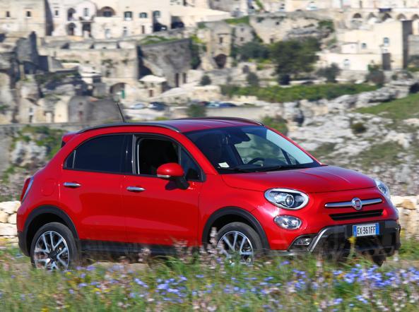 La Fiat 500X: il crossover più venduto in Italia