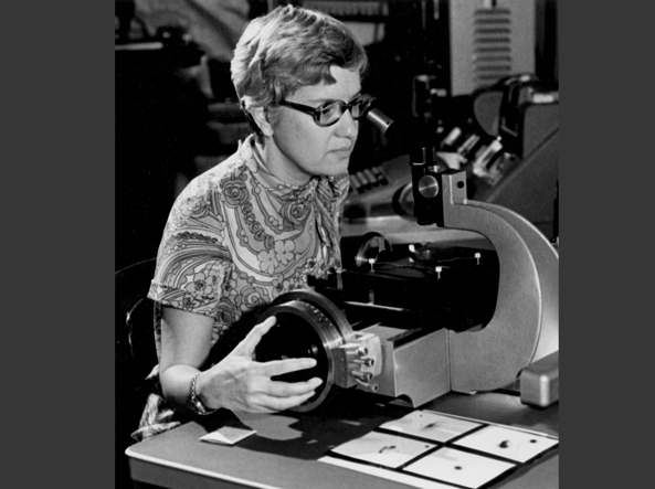 Vera Rubin in una foto d'archivio (Ap)