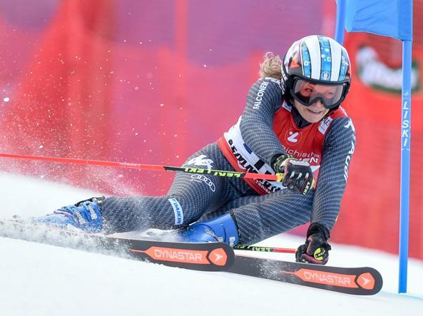 Manuela Mölgg è terza nel gigante di Semmering
