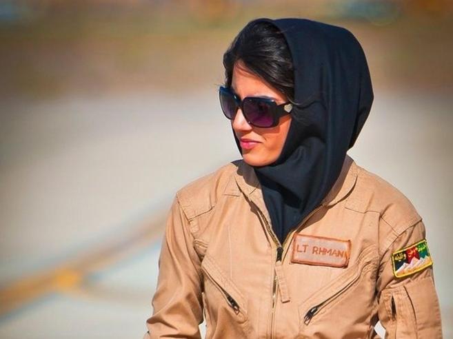 Minacce di morte: la prima top gun afghana chiede asilo a Usa