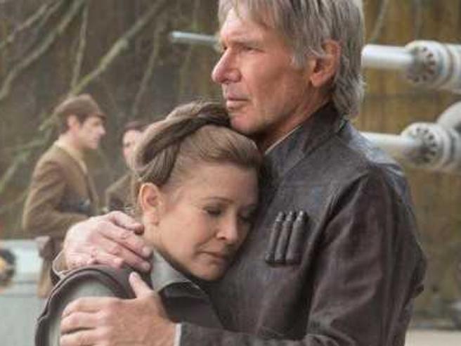 Carrie Fisher nel nuovo Star Wars: già girate le scene di «Episodio VIII»