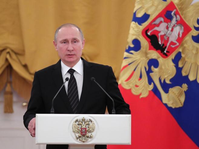 Siria, Putin: «È tregua tra ribelli e Assad»