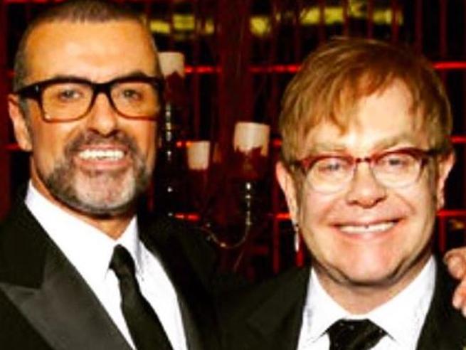 Due funerali per George Michael:Elton John canterà per lui FotoOverdose?  |Chi è il compagno