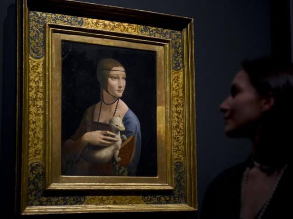 Leonardo Da Vinci, ora la sua Dama è della Polonia