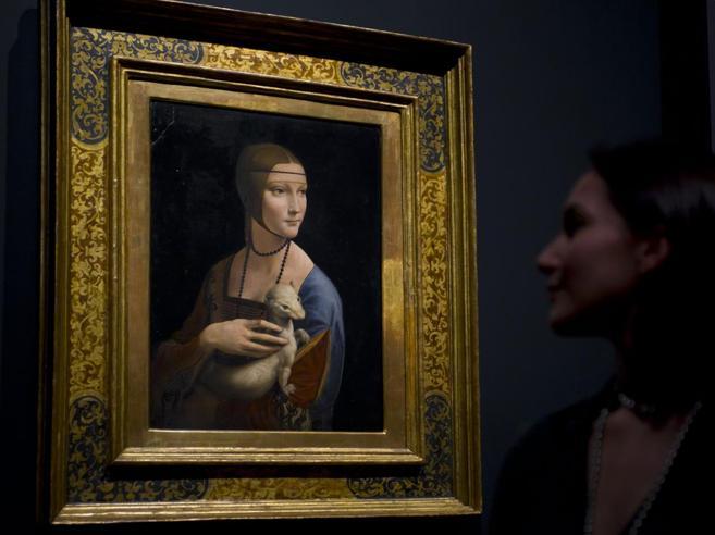 Dalla Polonia solo 100 milioni: venduta  la  Dama con l'ermellino