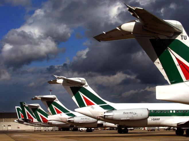 Alitalia chiude la rotta Roma-Malpensa