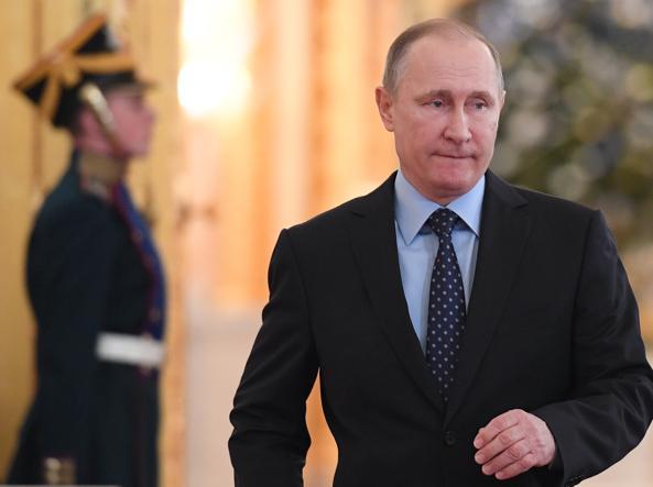 Siria,Putin annuncia accordo per tregua