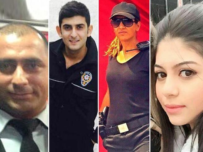 La diciottenne israeliana, il cameriere, la poliziotta : le storie  delle  vittime  al Reina