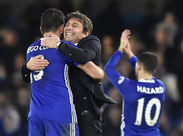 Chelsea, Conte fa tredici e punta al record assoluto in Premier League