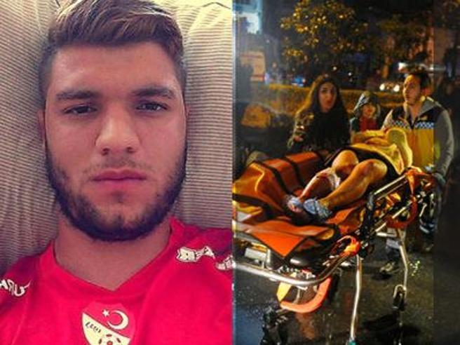 I cinque italiani  sopravvissuti: «Pochi secondi, poi l'orrore»E l'ex calciatore:   «Correvo sui corpi di chi cadeva»|Video