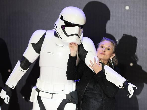 Risarcimento record per Disney dopo la morte di Carrie Fisher