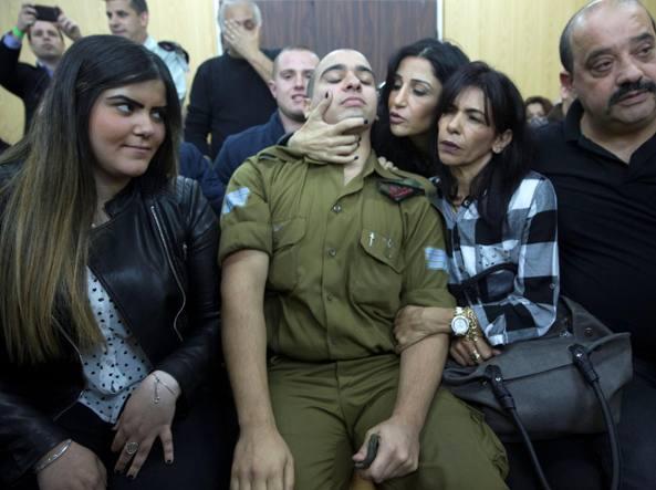 Tel Aviv, soldato israeliano condannato per omicidio colposo: sparò a palestinese ferito