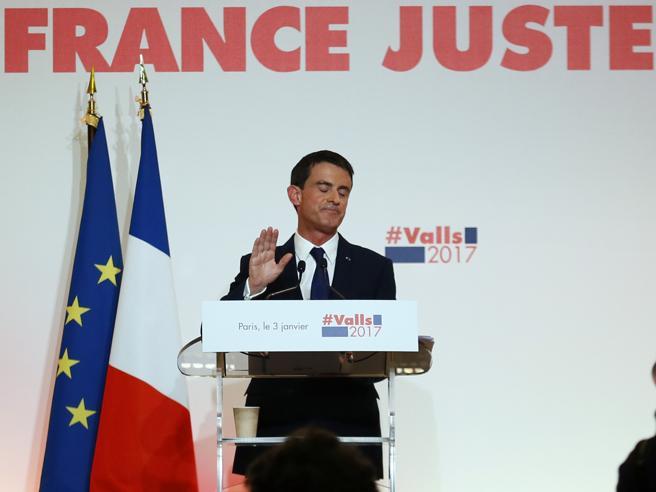 Più Europa, giustizia e laicitàValls lancia la sua «Francia forte»