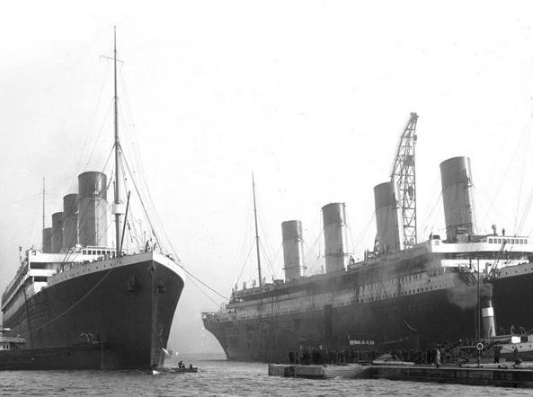 Titanic tutte le ipotesi dell affondamento anche quelle for Cantiere di costruzione