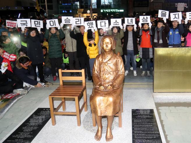 La statua della discordia: Tokyo richiama l'ambasciatore a Seoul