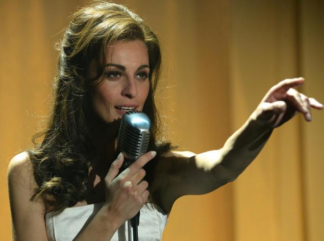 Malore in diretta  per Sveva Alviti,la «nuova Dalida»
