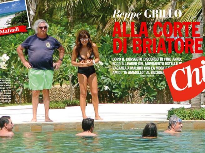 Vacanze a Malindi, Briatore difende Beppe Grillo: «Ma quale lusso, qui  in Kenya si spende meno che a Cortina»