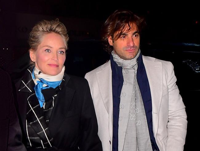 Sharon Stone ha un nuovo amore: è l'italiano Angelo Boffa