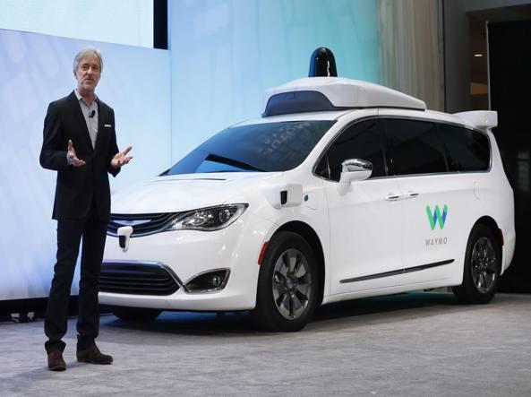 Detroit, ecco la nuova Google Car