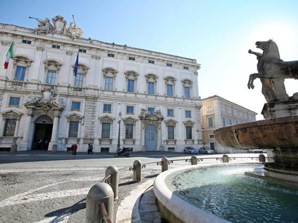 Sede della Corte costituzionale a Roma