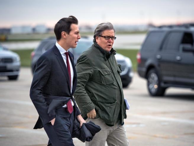 Jared, Baracke gli altri: se il potere Usa veste sempre leggero (anche al gelo)