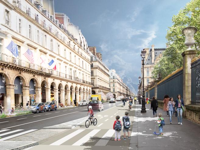 «Parigi, troppe auto»: la sindaca ripensa la mobilità della città