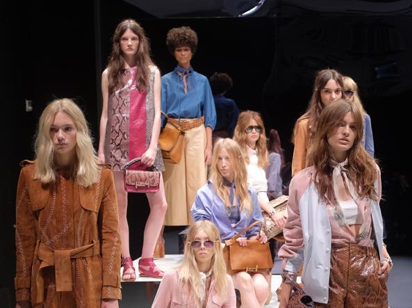 La collezione estiva di Tod's all'ultima Fashion Week a Milano