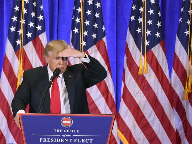 La politica di Trump, annunci via Twitter e reazioni Schede