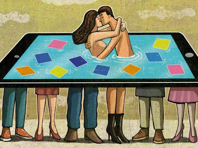 Incontriamoci con un'app Il fenomeno del dating online