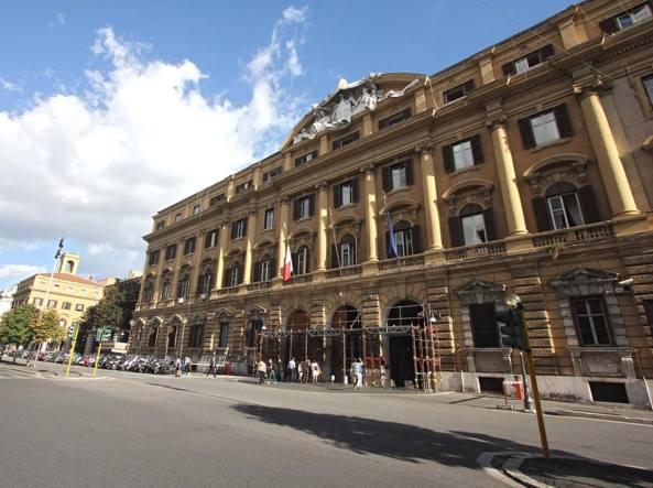 La sede del ministero dell'Economia a Roma