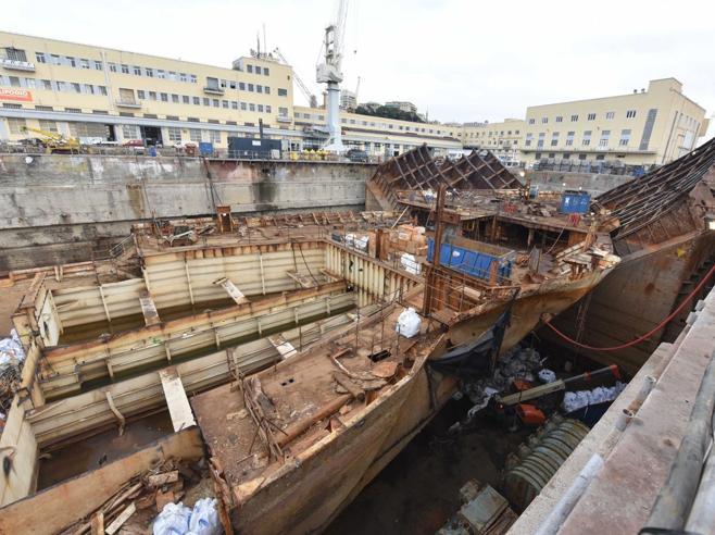 Costa Concordia 5 anni dopo Quello che  resta di una «regina dei mari» Foto | Lo speciale