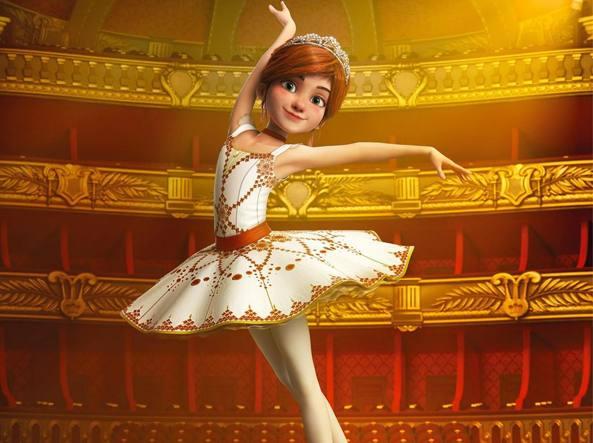 Danza e sacrifici nel cartoon «ballerina «È come nella